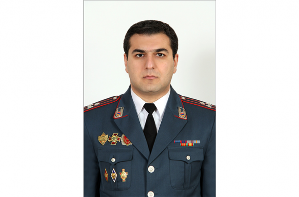 Начальником штаба полиции Армении назначен Армен Мкртчян