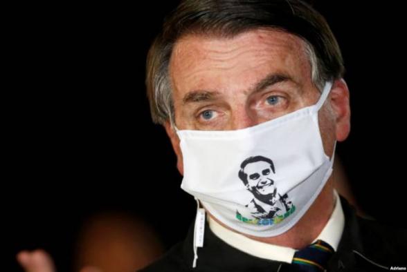 Բրազիլիայի նախագահը վարակվել է կորոնավիրուսով