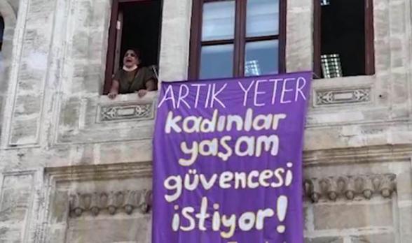 Թուրքիայում ձերբակալվել են Ստամբուլյան կոնվենցիայի հնարավոր չեղարկման դեմ բողոքող կանայք