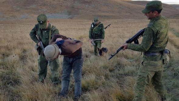Բացահայտվել է սահմանի խախտման 5 դեպք, ձերբակալվել է 7 սահմանախախտ. ԱԱԾ