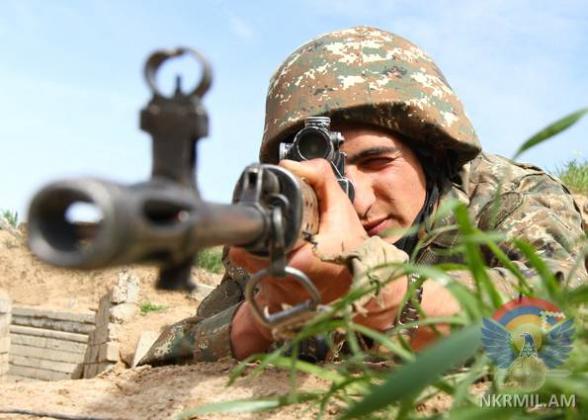 ВС Азербайджана за неделю нарушили режим прекращения огня более 150 раз