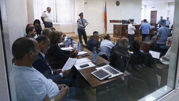 Адвокат Кочаряна ходатайствовал о приглашении в суд важных для защиты свидетелей (видео, дополнено)