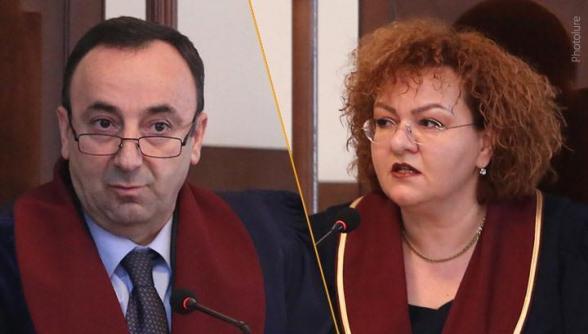 Աշոտ Խաչատրյանը կարգադրել է արձակուրդից հետ կանչել Թովմասյանին և Արևիկ Պետրոսյանին