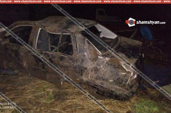Լոռու մարզում 19-ամյա վարորդը Volkswagen-ով վթարի է ենթարկվել և, գիտակցության չգալով, մահացել հիվանդանոցում