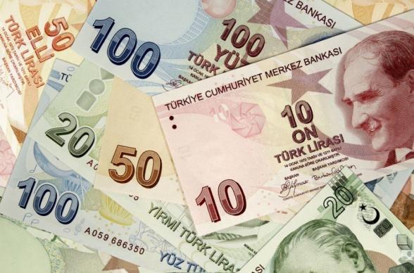 Թուրքական լիրան արժեզրկման պատմական ռեկորդ է գրանցել