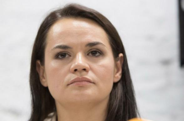 «Я уехала к детям»: Тихановская записала видеообращение
