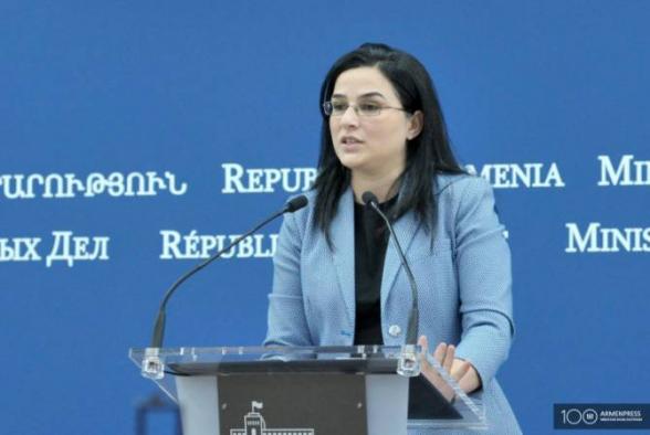 ՀՀ ԱԳՆ մամուլի խոսնակն անդրադարձել է Թուրքիայի ԱԳՆ հայտարարությանը