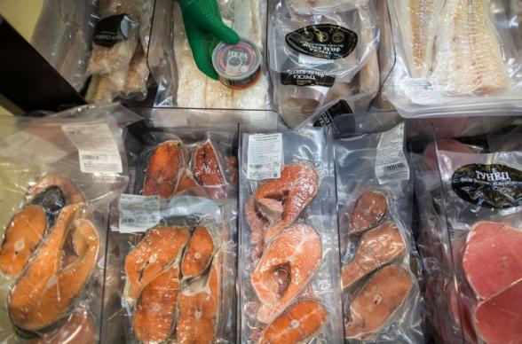 В Китае коронавирусвыявили на упаковке импортных замороженных морепродуктов