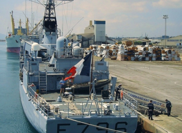 Франция усилит военное присутствие в Восточном Средиземноморье