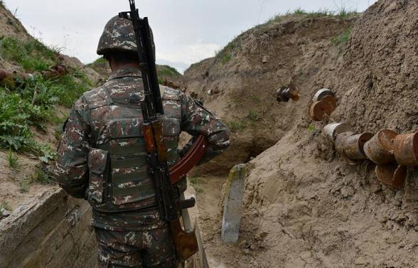 Հակառակորդի սադրանքի հետևանքով հյուսիսարևելյան հատվածում տեղակայված զորամասերից մեկի մարտական դիրքում զինծառայող է զոհվել