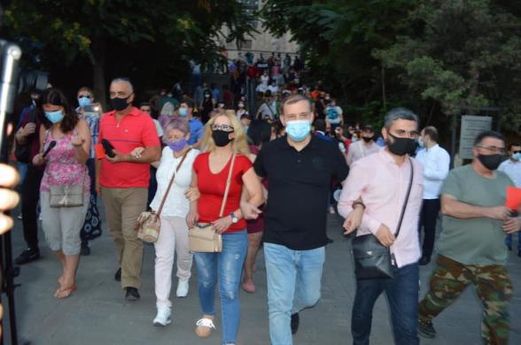 STOP NIKOL: митинг-шествие с требованием отставки Никола Пашиняна (видео)