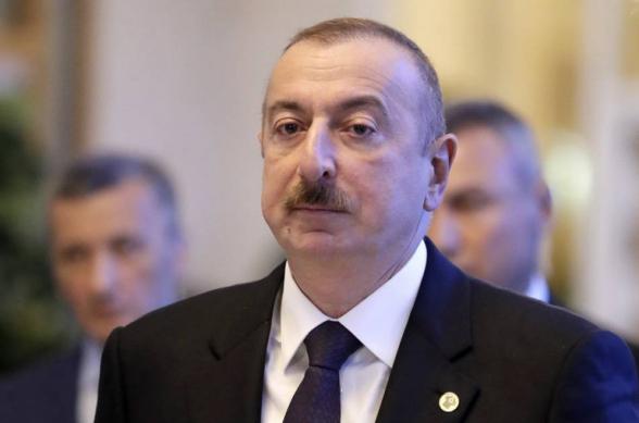 Алиев заявил, что переговоры по карабахскому конфликту фактически не ведутся