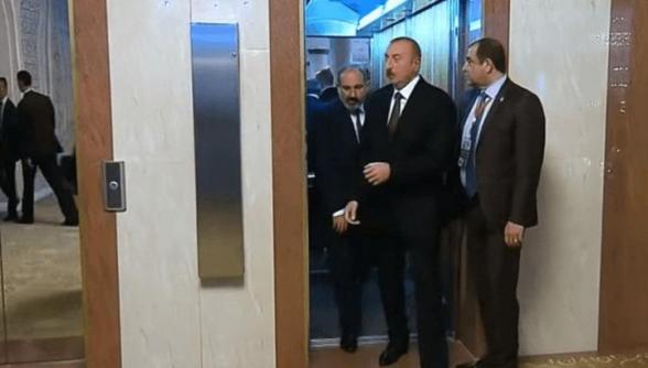Ալիևը բացահայտեց, թե ինչ են պայմանավորվել Փաշինյանի հետ «վերելակում»