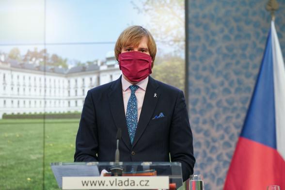 Глава Минздрава Чехии подал в отставку из-за ситуации с COVID-19