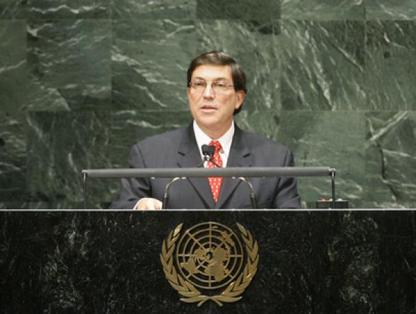 Глава МИД Кубы назвал политику США главной угрозой международной безопасности