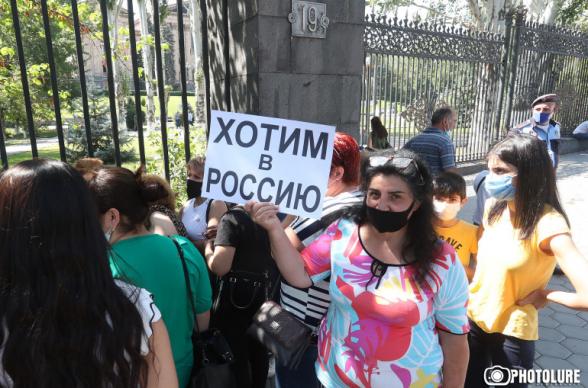 Աջակցել են Նիկոլին, բայց «նոր Հայաստանից» ուզում են հեռանալ Ռուսաստան