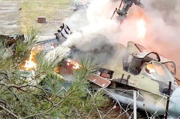 Ադրբեջանի ՊՆ-ն հաստատել է իրենց մարտական ուղղաթիռի խոցումը
