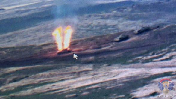 Ադրբեջանական զինուժը կորցրել է 2 ուղղաթիռ, 14 անօդաչու թռչող սարք, ինչպես նաև ունի զրահատեխնիկայի կորուստներ