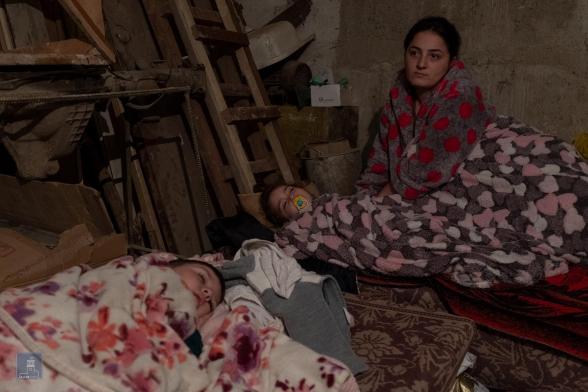 Ստեփանակերտում բնակիչները պատսպարված են ապաստարաններում. Կառավարությունը լուսանկարներ է հրապարակել