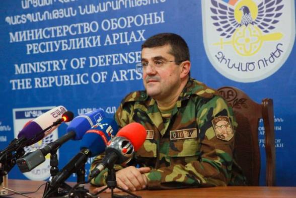 Азербайджан очень долго готовился к сегодняшней войне: президент Арцаха представил обстановку на линии фронта (видео)