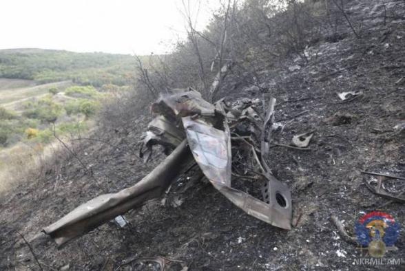 Արցախի ՊՆ-ն ցուցադրել է Ադրբեջանի օդուժի կորուստների լուսանկարները