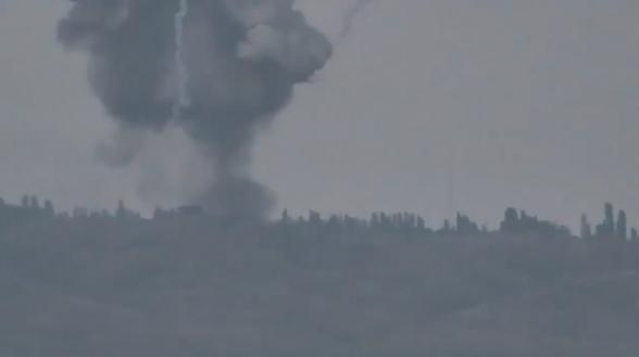 Այսօր վաղ առավոտյան ադրբեջանական հենակետերի և զրահատեխնիկայի ոչնչացման կադրերը