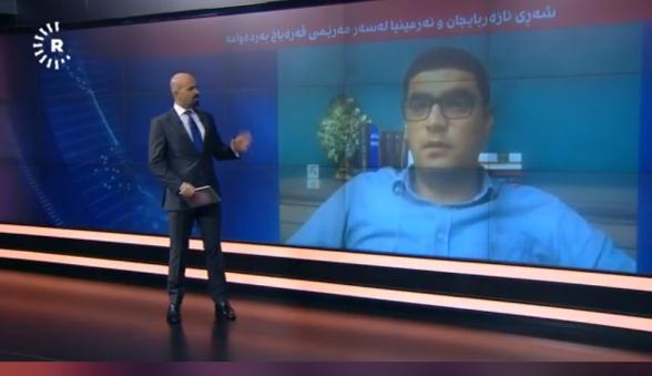 Բորիս Մուրազին Արցախում ստեղծված իրավիճակի մասին պատմում է քրդական ամենամեծ լսարանն ունեցող հեռուստաընկերության ուղիղ եթերում (տեսանյութ)