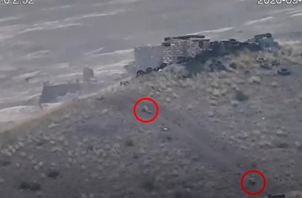 Армия обороны обратила противника в бегство (видео)