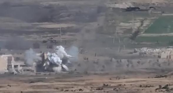 Армянские ВС уничтожили целое подразделение азербайджанской армии (видео)