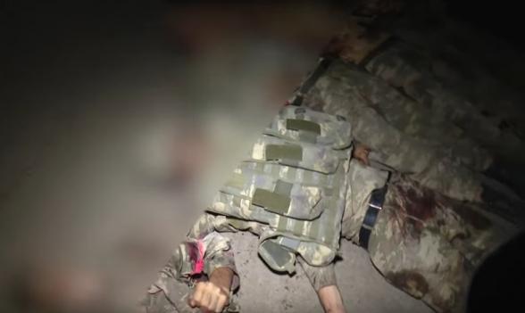 Опубликованы новые кадры азербайджанских потерь (видео 18+)