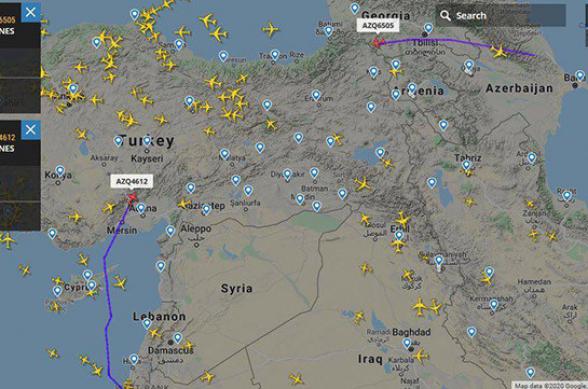 Ադրբեջանական երկու բեռնափոխադրող ինքնաթիռներ թռիչքներ են իրականացնում դեպի Իսրայել կամ Իսրայելից հետ (լուսանկար)