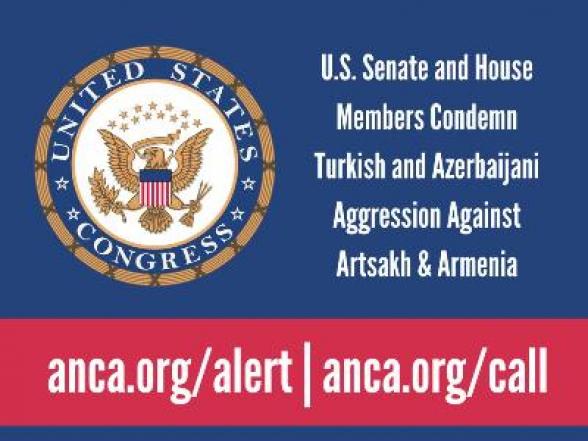 ԱՄՆ 20-ից ավելի կոնգրեսականները դատապարտել են Ադրբեջանի և Թուրքիայի ագրեսիան