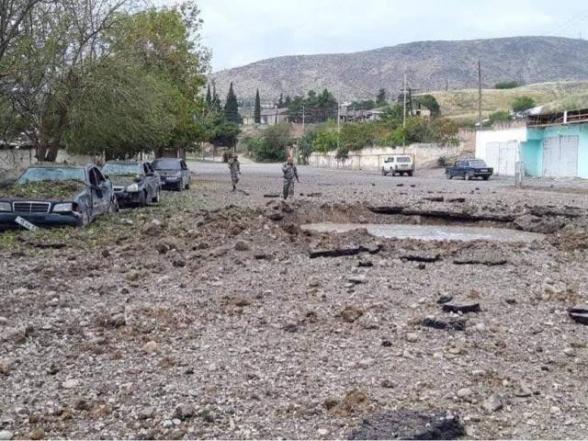 Մարտակերտում ադրբեջանական ռմբակոծության հետևանքով առաջացած ավերածությունները (լուսանկար)