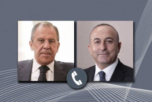ՌԴ և Թուրքիայի արտգործնախարարները հեռախոսազրույց են անցկացրել Ղարաբաղում տիրող իրավիճակի շուրջ