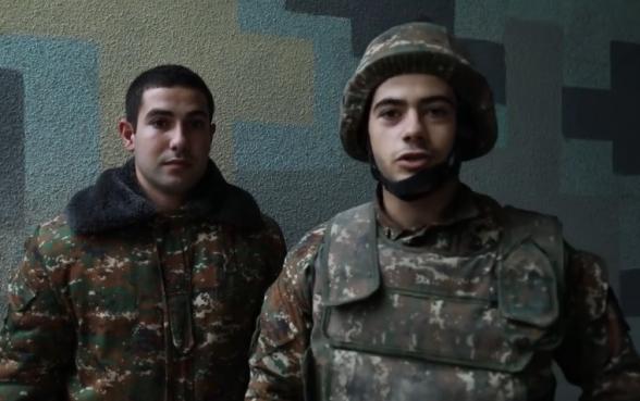 Մեր պես տղերքը պոստերում կանգնած են․ տեսանյութ՝ առաջնագծից