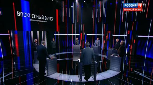 «Ужасная война»: обсуждение у Соловьева (видео)