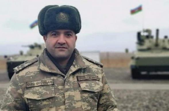 Ոչնչացվել է Ադրբեջանի զինված ուժերի ծանր հրետանային բրիգադի շտաբի պետը