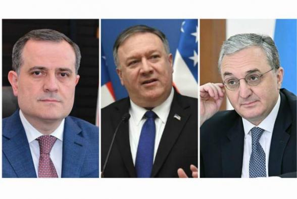 Госсекретарь США проведет в Вашингтоне отдельные встречи с главами МИД Армении и Азербайджана