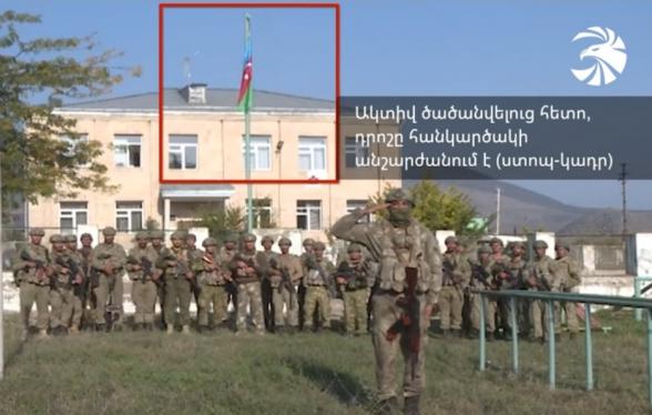 Ադրբեջանական քարոզչամեքենայի հերթական կեղծիքը․ նկարահանվել ու ոչնչացվել են