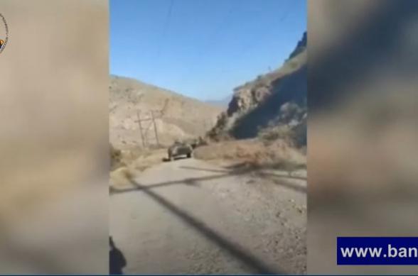 Բացառիկ տեսանյութ. հարավային ուղղությամբ ջախջախված հակառակորդի զինտեխնիկան