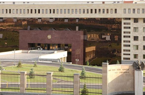 ՊՆ-ն հերքում է հայկական ինքնաթիռի խոցման մասին ադրբեջանական ապատեղեկատվությունը