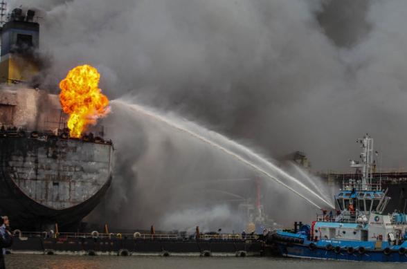 Պայթյուններ են որոտացել Ազովի ծովում տեղակայված ռուսական լցանավում