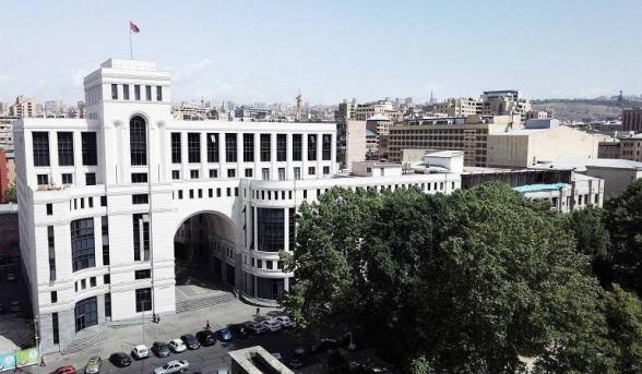 ՀՀ ԱԳՆ-ն իր լիակատար համերաշխությունն է հայտնել Ֆրանսիայի նախագահ Էմանուել Մակրոնին