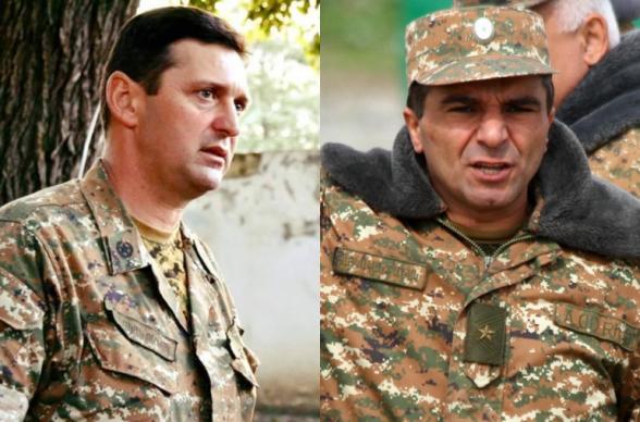 Джалала Арутюняна на посту министра обороны Арцаха сменит генерал-лейтенант Микаел Арзуманян (видео)