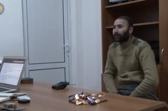 Հրապարակվել է ռազմագերի Էմին Բախշալիևի հարցաքննության տեսանյութը