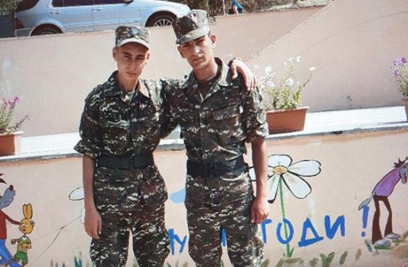 Արցախում զոհված 20-ամյա Աղասին և 19-ամյա Գևորգը հորեղբոր տղաներ էին (լուսանկար)
