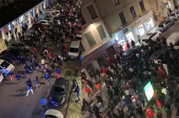 В ряде городов Франции турки пытались устроить ночью армянские погромы (видео)