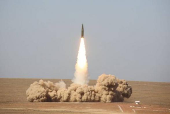 Минобороны России показало видео пуска новой противоракеты