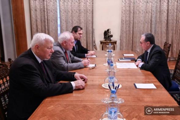 В Женеве 30 октября состоится встреча главы МИД Армении и сопредседателей Минской группы ОБСЕ