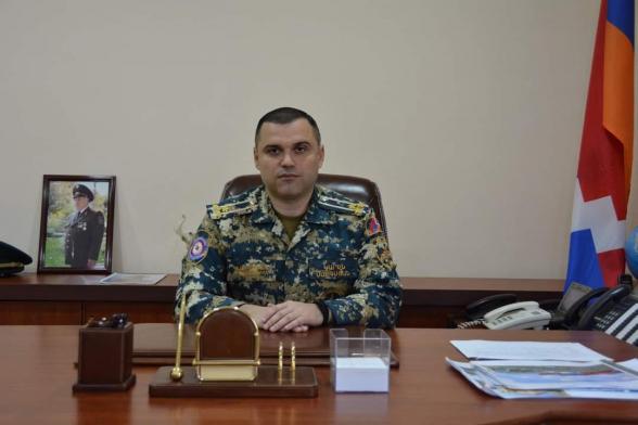 Погибший и раненые сотрудники ГСЧС Арцаха будут награждены медалью «За мужество»